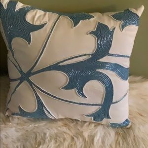 Embellished pillow